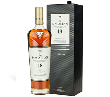 Macallan Single Malt Engraved