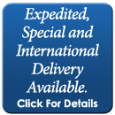 Expedited, Special and International Delivery Available