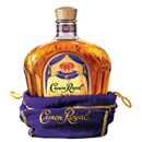 Crown Royal Canadian Whisky, historic Canadian rye whisky