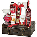 Red Gift Basket