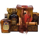 THE CROWN ROYAL RESERVE GIFT BASKET