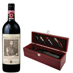 Verrazano Chianti Classico 2010 with Wine Accessory Gift Set