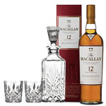 THE MACALLAN SHERRY OAK 12 COLLABORATION GIFT SET