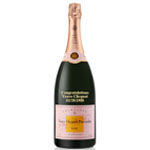 CUSTOM ENGRAVED VEUVE CLICQUOT ROSE NV