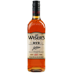 J.P. Wiser's Rye Canadian Whisky