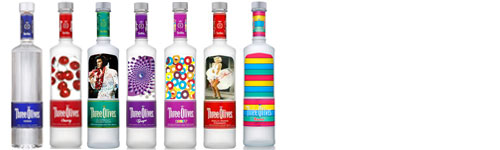 Three Olives® Vodka
