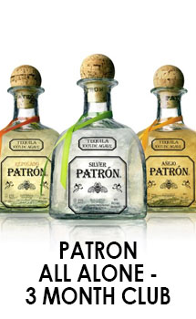 PATRON ALL ALONE - 3 MONTH CLUB