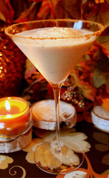 1877SPIRITS PUMPKIN SPICE MARTINI MIXOLOGY