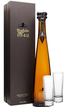 DON JULIO TEQUILA ANEJO 1942 - 750ML WITH SHOT GLASSES