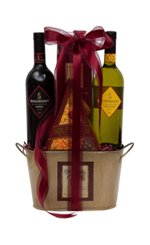 A PERFECT MATCH WINE GIFT BASKET