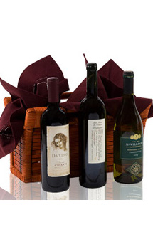 A TASTE OF WINE GIFT BASKET