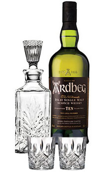 ARDBEG 10 YEARS OLD SINGLE MALT COLLABORATION GIFT SET