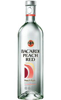 BACARDI® PEACH RED RUM