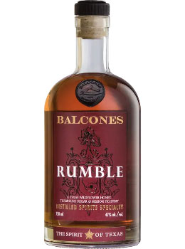 BALCONES TEXAS WHISKEY RUMBLE - 750