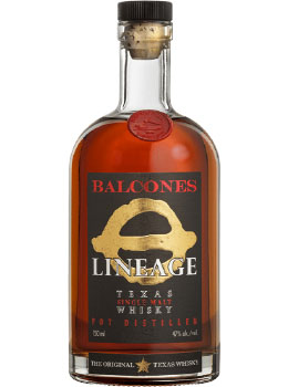 BALCONES WHISKY SINGLE MALT LINEAGE