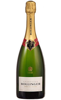 BOLLINGER SPECIAL CUVEE CHAMPAGNE - 750ML