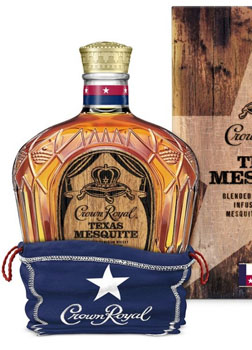 CROWN ROYAL CANADIAN WHISKY TEXAS MESQUITE - LIMITED EDITION