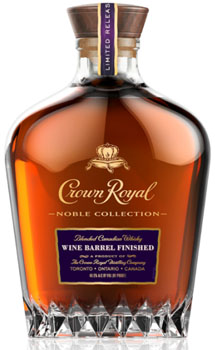 CROWN ROYAL CANADIAN WHISKY NOBLE COLLECTION 13 YEAR BLENDER'S MASH