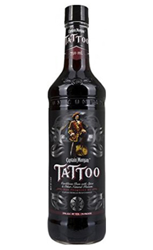 CAPTAIN MORGAN RUM TATTOO