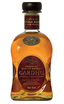 CARDHU 12 YEAR OLD - 750ML