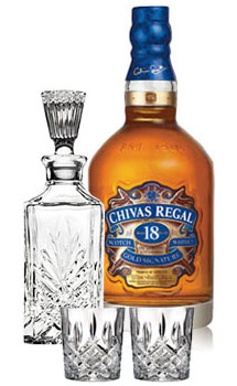 CHIVAS REGAL 18 COLLABORATION GIFT