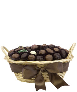 CHOCOLATE COLLECTION GIFT BASKET