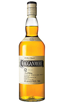 CRAGGANMORE 12 YEAR OLD SINGLE MALT
