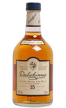 DALWHINNIE 15 YEAR OLD SINGLE MALT