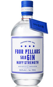 FOUR PILLARS NAVY STRENGTH GIN - AU
