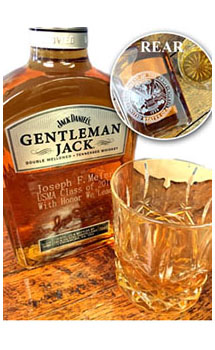 GENTLEMAN JACK RARE TENNESSEE WHISKEY CUSTOM ENGRAVED - AIR FORCE