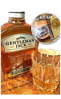 GENTLEMAN JACK RARE TENNESSEE WHISKEY CUSTOM ENGRAVED - ARMY