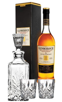 GLENMORANGIE QUINTA RUBAN 12 COLLABORATION GIFT SET