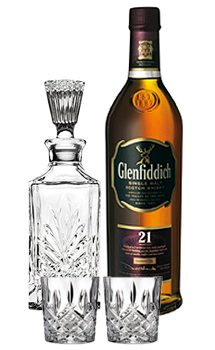 GLENFIDDICH 21 COLLABORATION GIFT SET