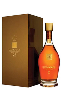 GLENMORANGIE QUARTER CENTURY 25 YEARS OLD SINGLE MALT SCOTCH WHISKY - 750ML