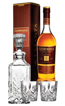 GLENMORANGIE LASANTA 12 COLLABORATION GIFT SET