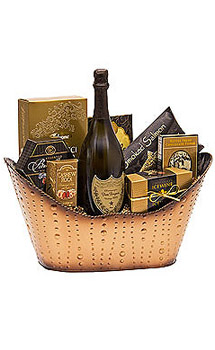 GOLDEN CELEBRATION CHAMPAGNE GIFT B
