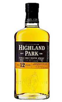 HIGHLAND PARK 12 YEAR OLD SINGLE MA
