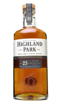 HIGHLAND PARK 25 YEAR OLD SINGLE MA