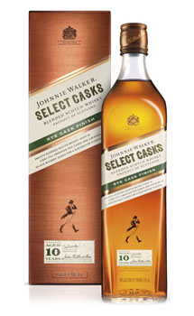 JOHNNIE WALKER SCOTCH SELECT CASKS