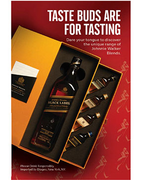 JOHNNIE WALKER BLACK DISCOVERY PACK