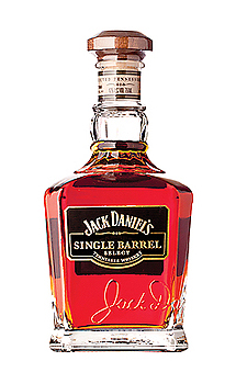 Jack Daniel's Single Barrel Tennessee Whiskey, Hand-selected whiskey