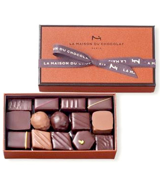 LA MAISON DU CHOCOLAT COFFRET MAISON ASSORTED - 29 PC
