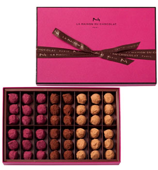 LA MAISON DU CHOCOLAT FLAVOURED TRUFFLES - 48 PC
