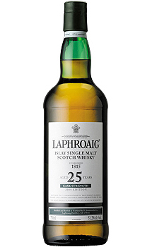 LAPHROAIG 25 YEAR OLD SINGLE MALT