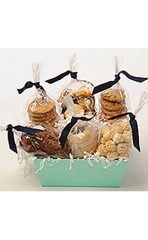 SIMPLY DELICIOUS COOKIE GIFT BASKET