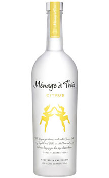 MENAGE A TROIS VODKA CITRUS