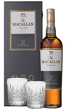 THE MACALLAN 21 YEAR OLD SINGLE MAL