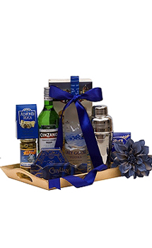 A MARVELOUS MARTINI GIFT BASKET