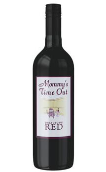 Mommy's Time Out Delicious Red Wine