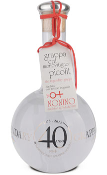 NONINO GRAPPA MONOVITIGNO CRU PICOLIT THE LEGENDARY